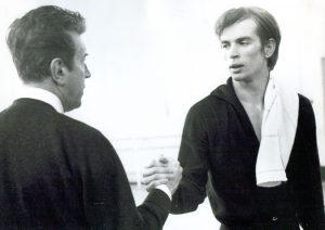 Rudolf Noureev et Frederick Ashton - 1961 - Crédits: Michael Peto